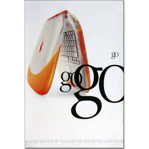 Orange iBook Poster