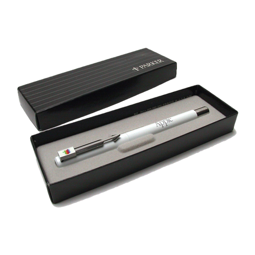White Parker Apple Pen