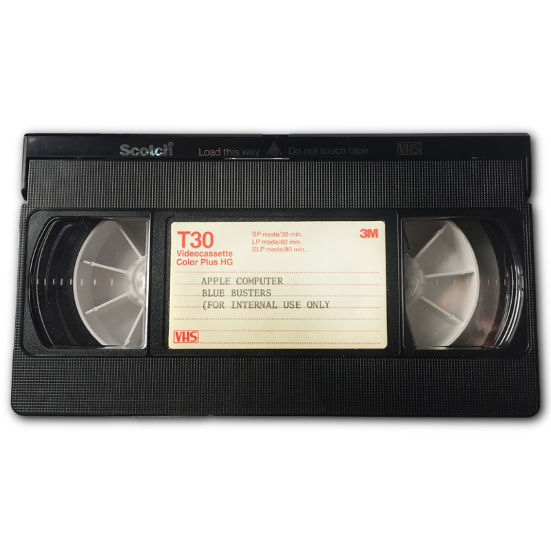 Blue Tape Sales >> Blue Busters VHS Tape – The Missing Bite