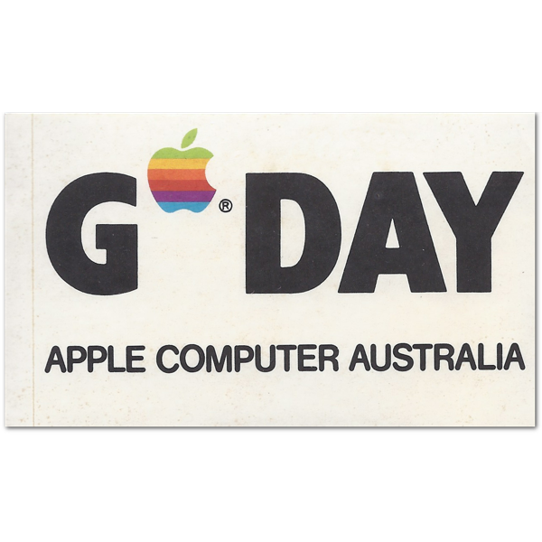 Apple Australia Sticker