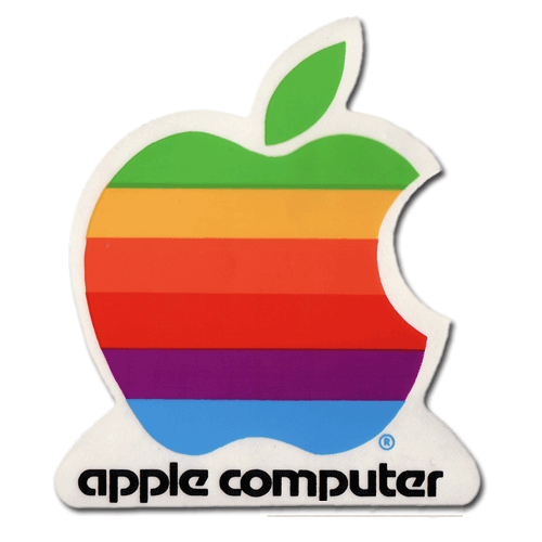 Original Apple 2 Inch Sticker