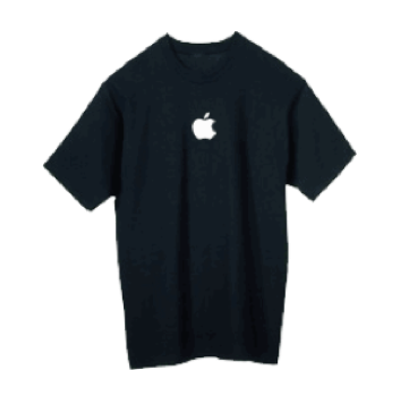 Black Apple T-shirt