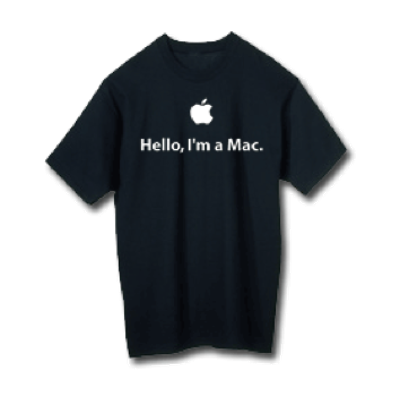 Hello I'm a Mac T-shirt