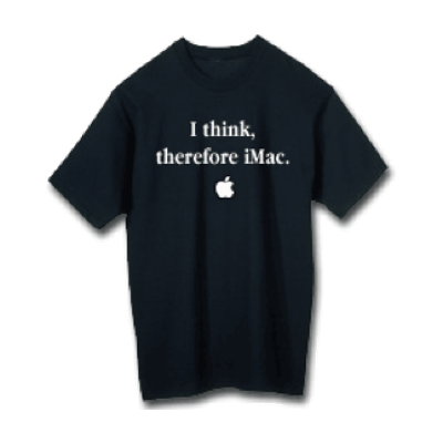 Therefore iMac T-shirt