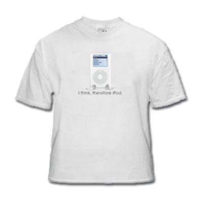 Therefore iPod T-shirt