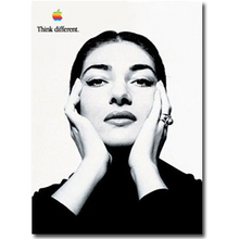 Damaged Maria Callas 24X36