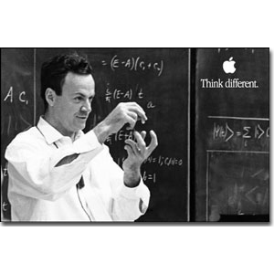 Richard Feynman 36X24