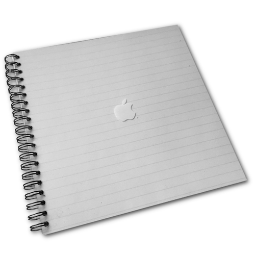 Square Apple Notebook