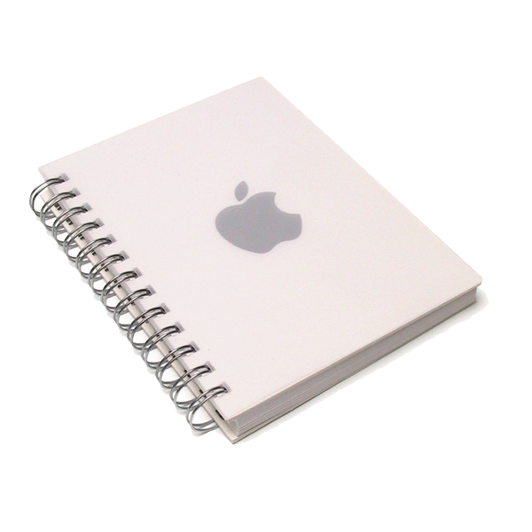 Grey Apple Notebook