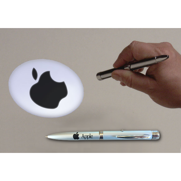 Silver Projection Apple Pen