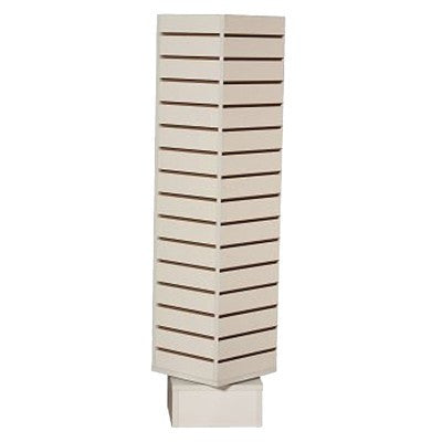 Slatwall Rotating Tower Display Unit