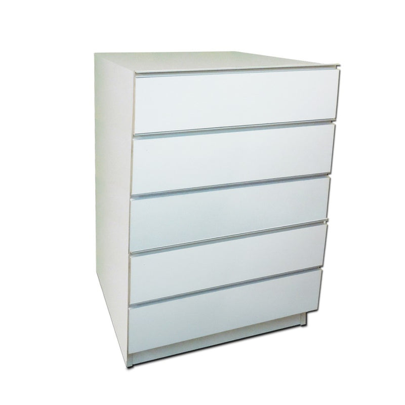 5 Drawer Prescription File Unit - Pharmacy Wood Undercounter
