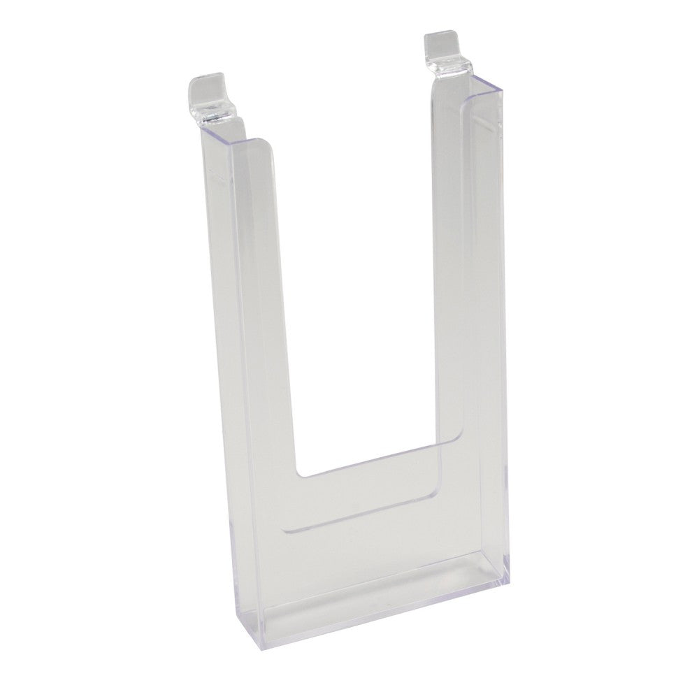 Clear Literature Molded Styrene Holder 4