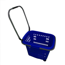 Extra Large Shopping Baskets with 4 Wheels & 3 Handles