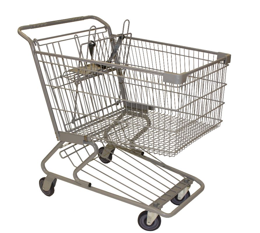 Triple Extra Large Shopping Cart