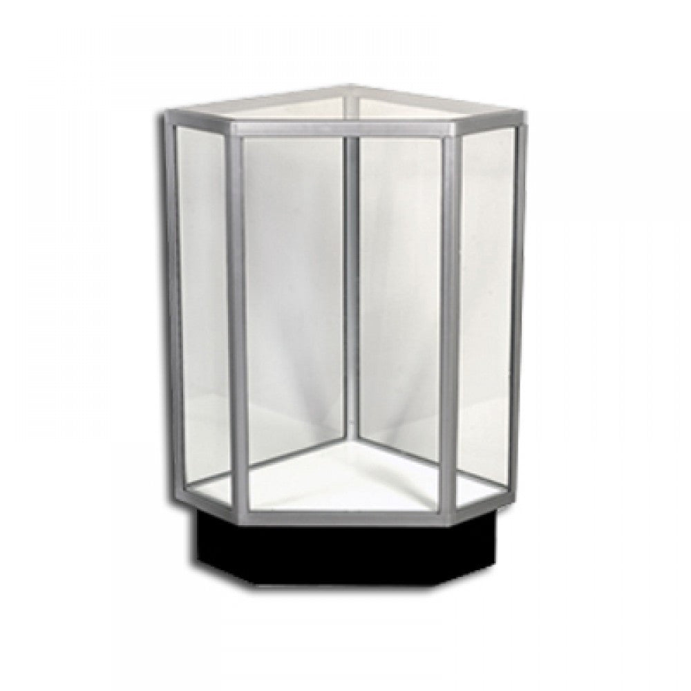 USF Series Extra Vision Traditional Corner Display Case