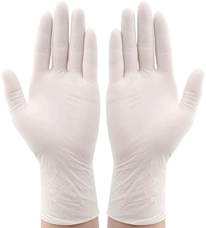 Latex Powdered Gloves