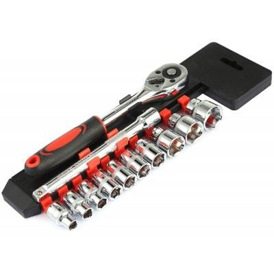 3/8 in. Drive SAE Socket Set (12-Piece)