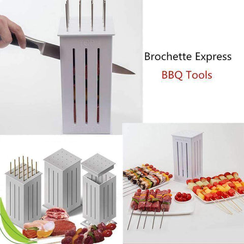 Meat Skewer Kabob Maker Box - Getmaxdeals, Get Max Deals, Free Shipping, Home Improvement, Hand Tools, All in one Saw Kit, Laser measurement, Impacts, Beauty and Hair Style, 11 in 1 Saw