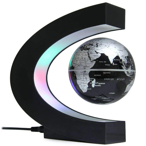 Levitating Globe Table Lamp Decoration - Getmaxdeals