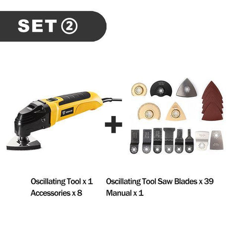 DEKKO 220V Electric Multi-Function DIY Power Tool - Getmaxdeals, Get Max Deals, Free Shipping, Home Improvement, Hand Tools, All in one Saw Kit, Laser measurement, Impacts, Beauty and Hair Style, 11 in 1 Saw