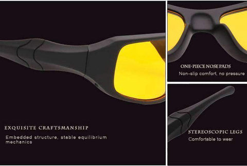 Night Vision Glasses Anti Glare Driving EyeWear - Getmaxdeals