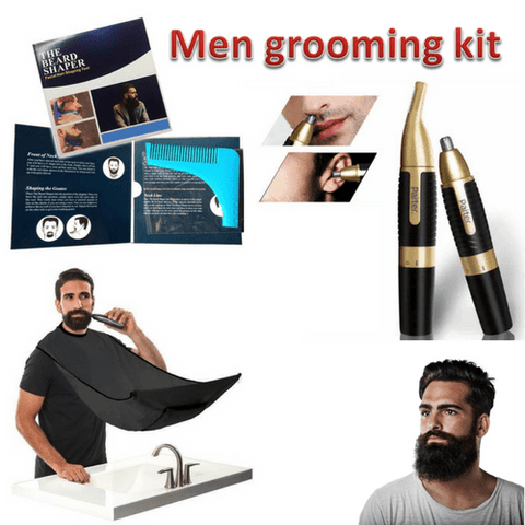 Men Grooming Kit - Getmaxdeals, Get Max Deals, Free Shipping, Home Improvement, Hand Tools, All in one Saw Kit, Laser measurement, Impacts, Beauty and Hair Style, 11 in 1 Saw