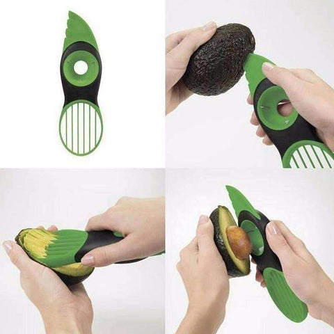 The Avocado 3-in-1 Slicer - Getmaxdeals, Get Max Deals, Free Shipping, Home Improvement, Hand Tools, All in one Saw Kit, Laser measurement, Impacts, Beauty and Hair Style, 11 in 1 Saw