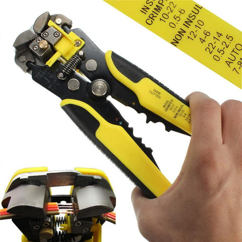 Image of Professional Automatic Wire Striper Cutter - Getmaxdeals, Get Max Deals, Free Shipping, Home Improvement, Hand Tools, All in one Saw Kit, Laser measurement, Impacts, Beauty and Hair Style, 11 in 1 Saw