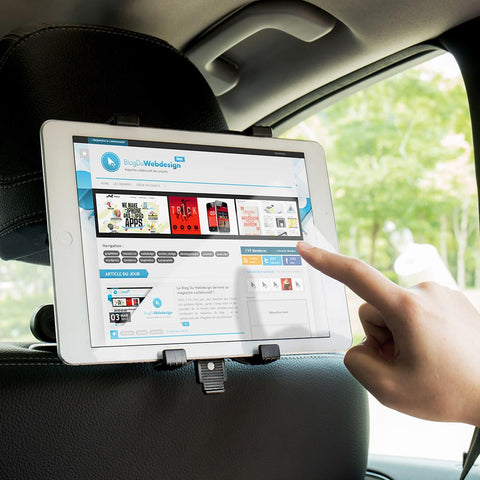 Back Seat iPad And Tablet Holder 7''- 11''