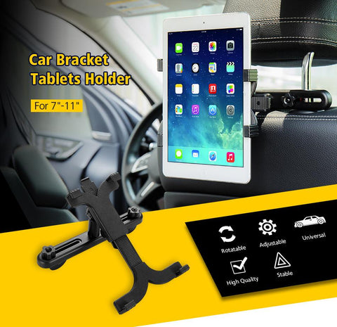 Back Seat iPad And Tablet Holder 7''- 11'' - Getmaxdeals, Get Max Deals, Free Shipping, Home Improvement, Hand Tools, All in one Saw Kit, Laser measurement, Impacts, Beauty and Hair Style, 11 in 1 Saw