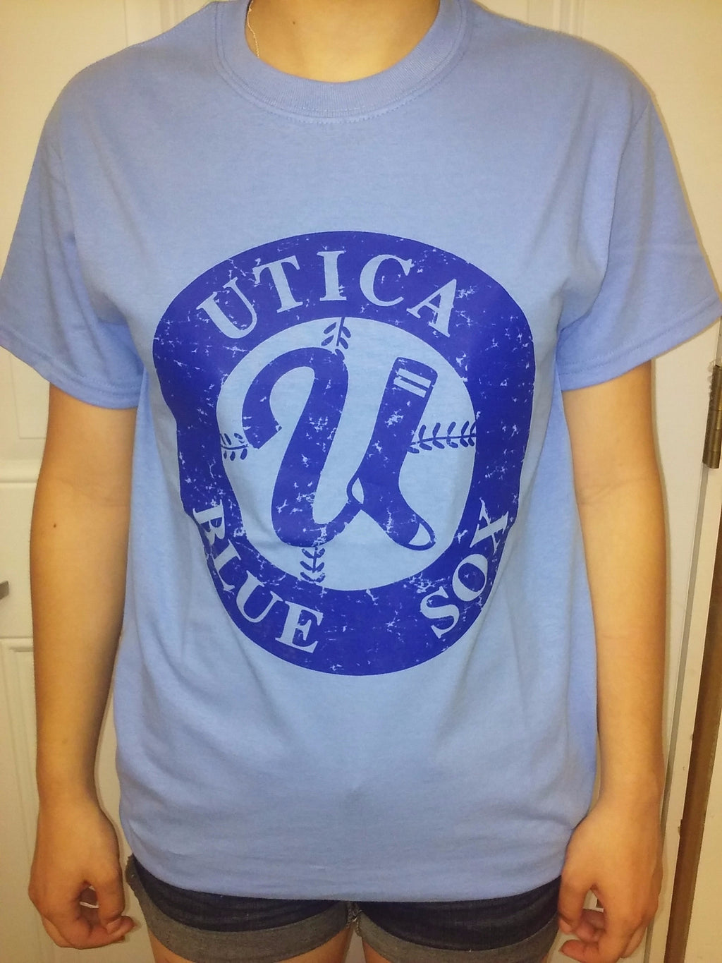 T-Shirt Columbia Blue - Royal Blue Circle Logo