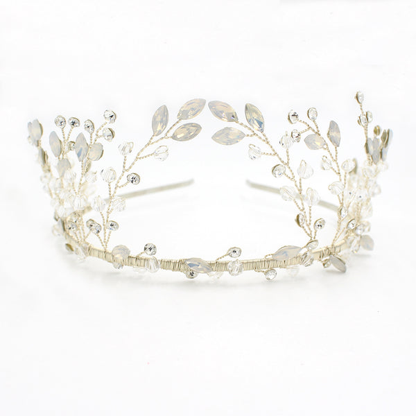 Elegant and delicate stunning crowns, tiaras and headbands