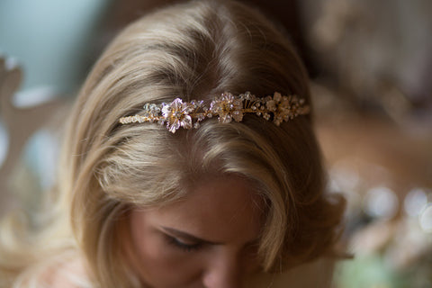 Wedding Rhinestone Halo Headband