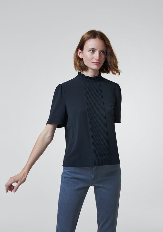 Constance Blouse Black by Ekyog