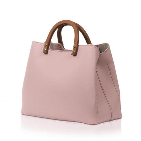 Inita Top Handle Vegan Bag Charming Pink by Inyati