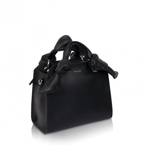 Aria Black Vegan Bag by Inyati