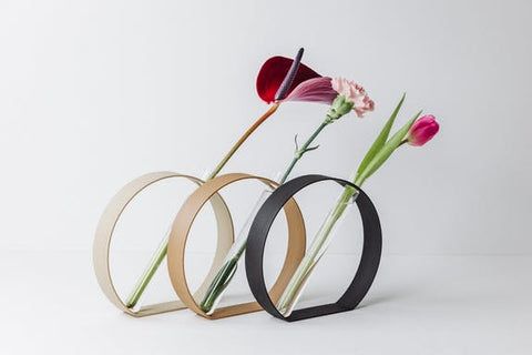 Round Soliflore Vase by Copo Design