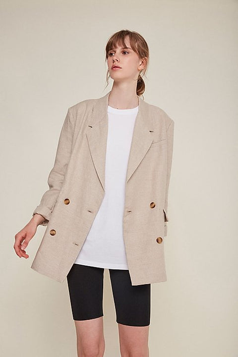Martia Blazer in Natural by Rita Row