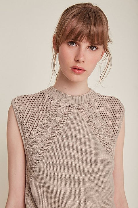 Nicola Top in Sand by Rita Row