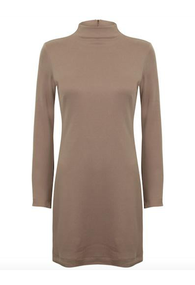 Mini Shift Dress by Cossac