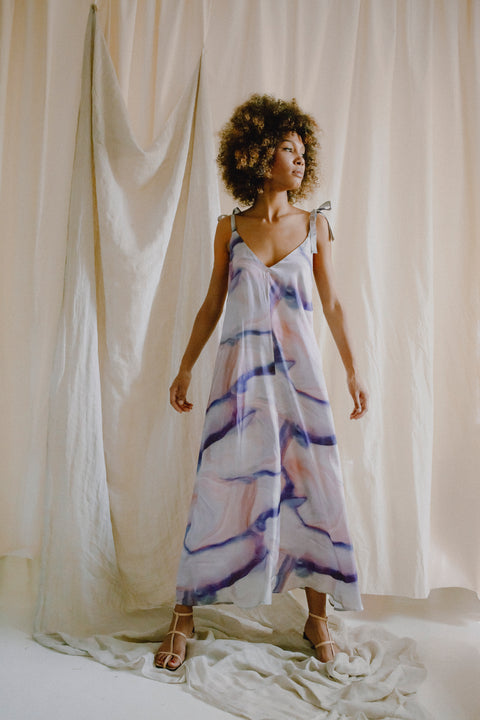Maxi Dress Print by Cossac