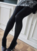 Lia Premium, Denier 100 Black by Swedish Stockings