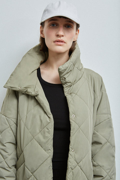Moteuka Jacket in Pale Olive by Embassy of Bricks and Logs