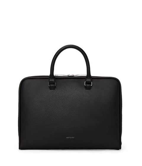 Holder Slim Briefcase- Black by Matt & Nat