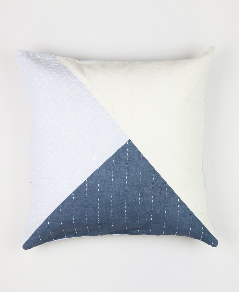 "18"" Color Block Didi Toss Pillow by Anchal"