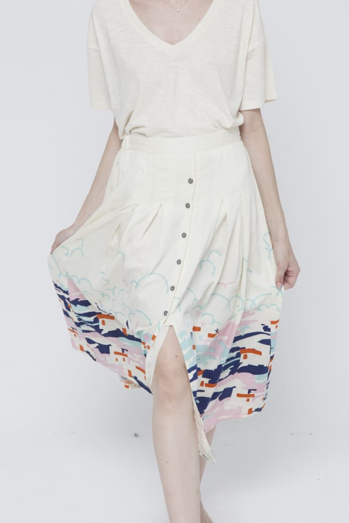 Ibiza Adela Skirt by Thinking Mu
