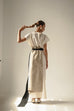 Motanka raw linen dress by KM by Lange