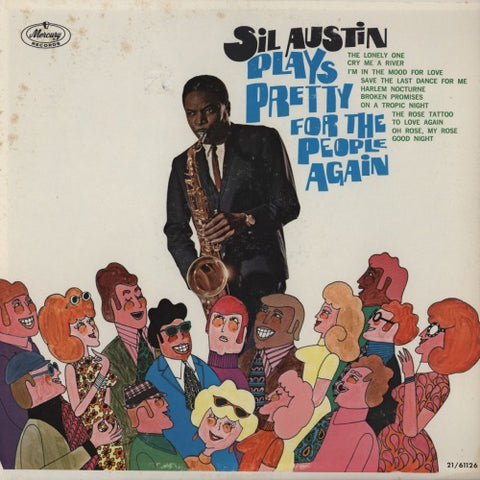 Sil Austin | Plays Pretty For The People Again | Mercury SR 61126 | LP&CD