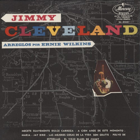 Jimmy Cleveland | A Map Of Jimmy Cleveland | Mercury MG 20442 | LP&CD